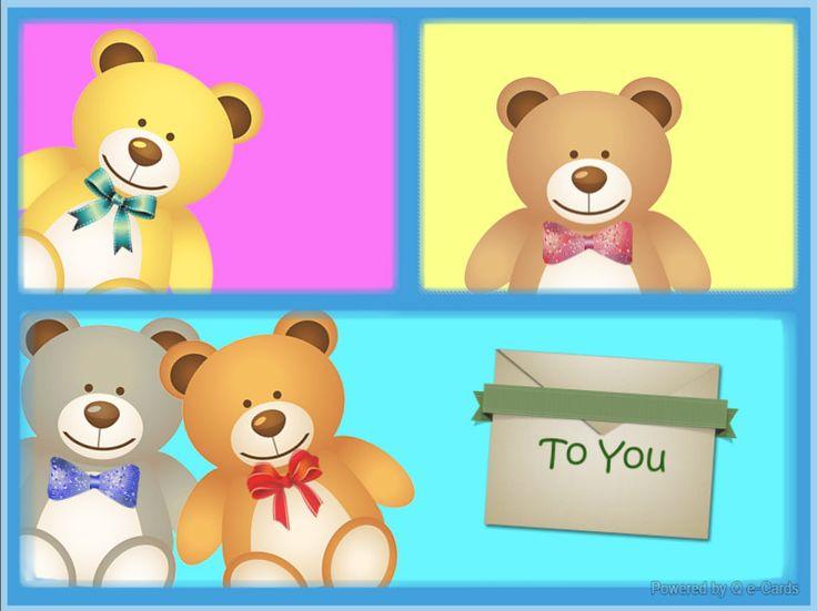 Get Well eCard – Bear Messenger