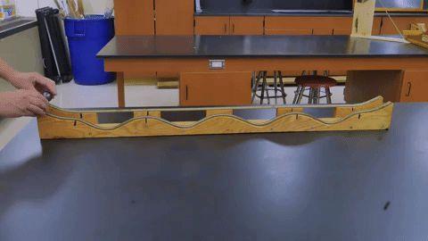 Experimentos caseros con las rampas de Galileo
