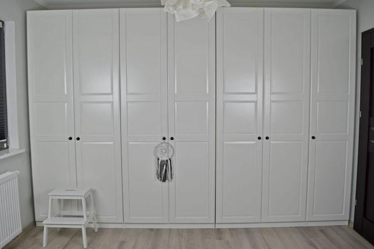 szafa pax drzwi tyssedal Garderoba Pinterest Ikea