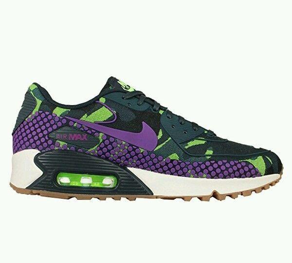 NIKE AIR MAX WOMEN'S SHOES RUNNING TRAINING PURPLE GREEN NEW SZ 7.5  #Nike #RunningCrossTraining