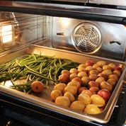 The Wolf Convection Steam Oven makes perfect steamed veggies and so much more.