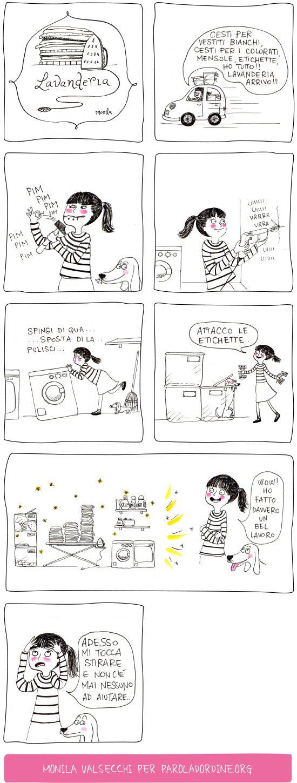 I ghirigori di Monila,lavanderia,paroladordine,la lavanderia,Monila