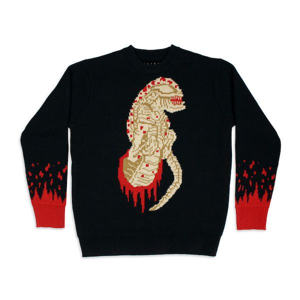 Mondo Releases A Facehugger Hat And Chestburster Sweater For Alien Day
