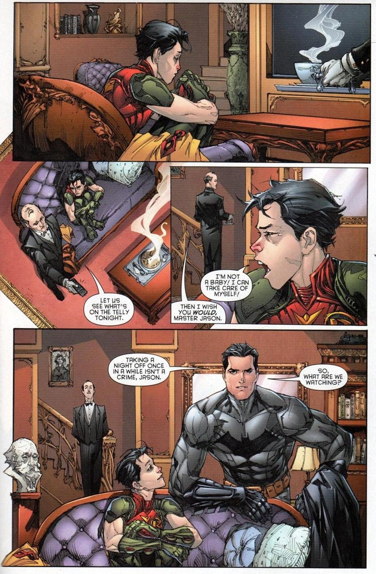 Awe Jason... Red Hood and the Outlaws  #3