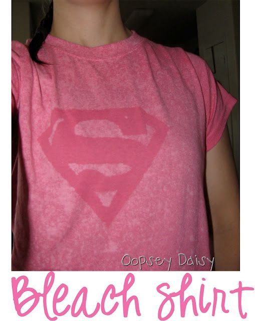 @Kristina Kilmer Keith   This made me think of you - DIY bleach shirt - looks super easy - you should make one