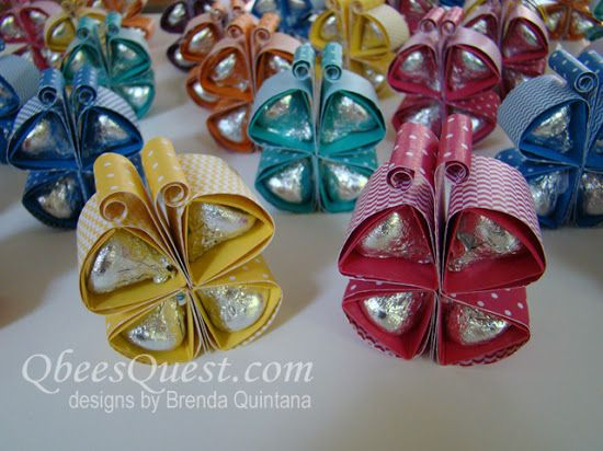 Qbee's Quest: Hershey's Kisses - Butterfly Tutorial