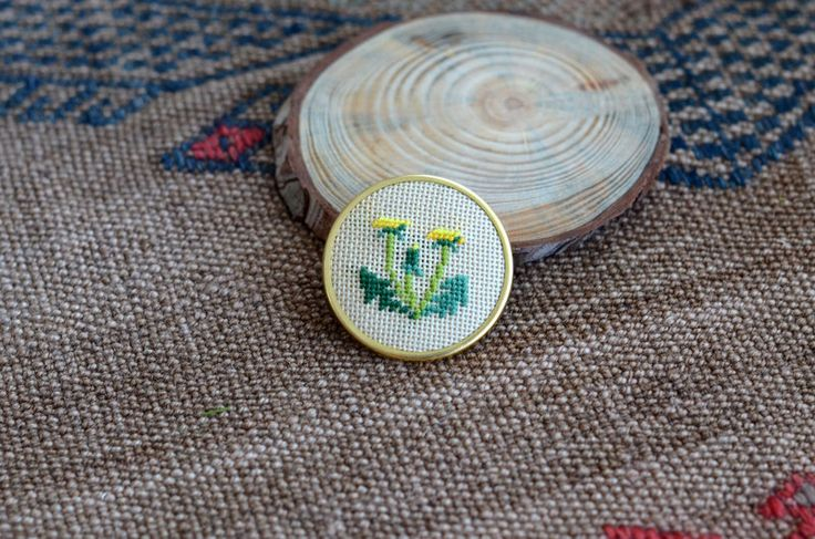 A personal favorite from my Etsy shop https://www.etsy.com/listing/222811111/dandelion-brooch