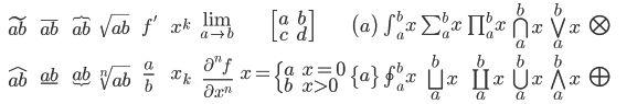 LaTeX Online Formel Editor