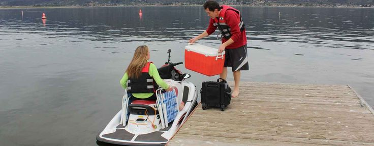 Jet Ski Fishing with Pac Rac, Jet Ski Accessories Finally Available!