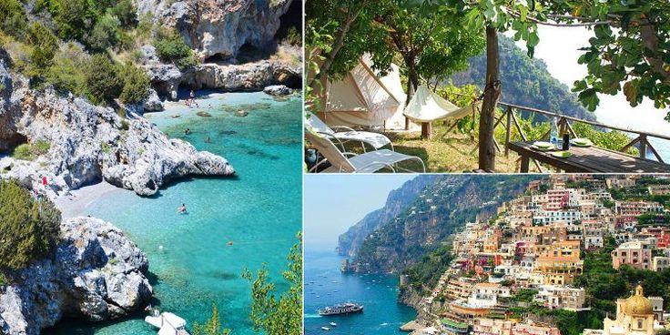 Nu kan du lyxcampa på Amalfikusten – för 500 kr – Omni