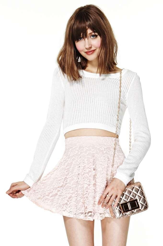 Marseille Lace Skirt