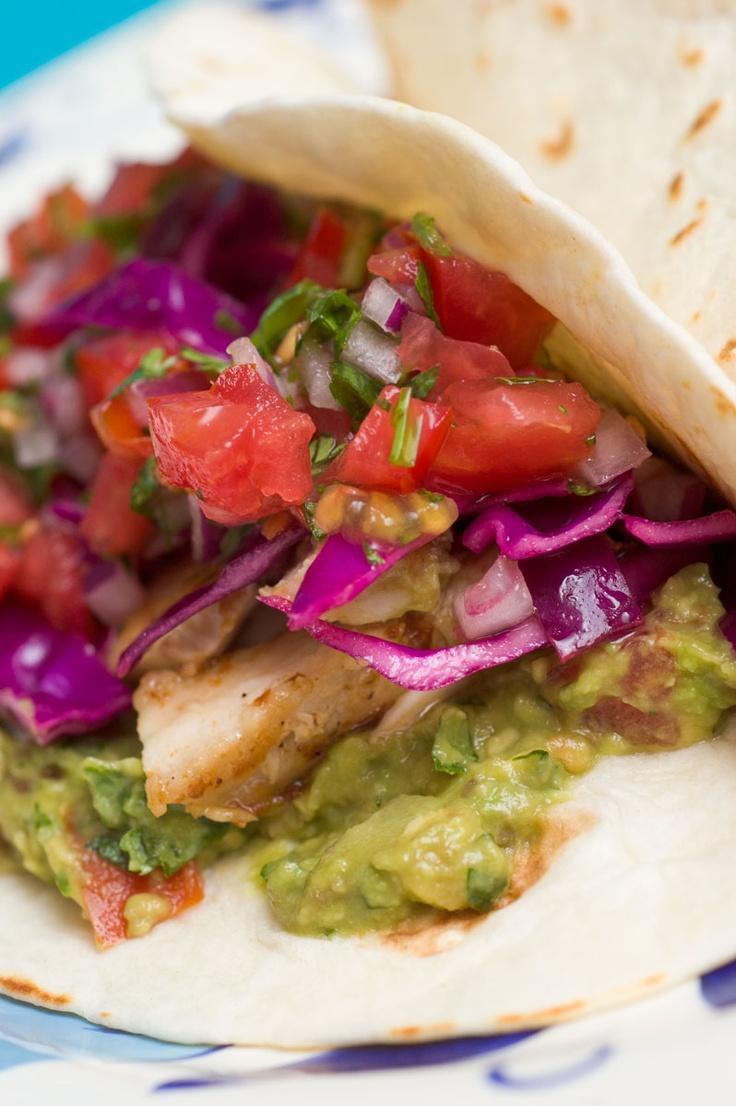Sugar & Spice by Celeste: Fish Tacos with Pan-Seared Mahi-Mahi