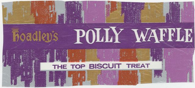 Hoadley's (commenced 1889) was sold to Rowntree then to Nestle. Polly Waffle was discontinued in 1989 due to poor sales.