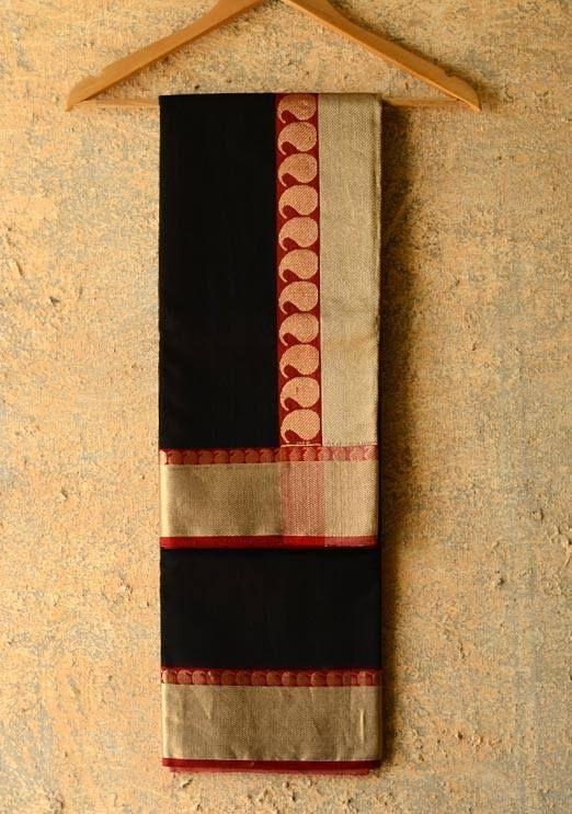 An elegant Kanjivaram silk saree