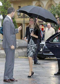 Los Príncipes de Asturias llegan a Oviedo para los actos previos a los premios - Foto 2