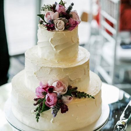 Floral Wedding Cakes Sydney - Naked Cakes - Flowers for Everyone
