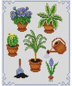 To each his own pot! Tons of FREE CROSS-SITCH PATTERNS at this site: just found a site that has really easy to download cross stirch patterns for free. It's http://club-point-de-croix.com/?code_avantage=CWcplRsmji Plus, if you click on this link, http://club-point-de-croix.com/?code_avantage=CWcplRsmji , you'll automatically receive a gift when you subscribe. I use this site all the time; there are hundreds of all different types of patterns, and there are new patterns added everyday.