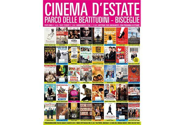 5,90 euro invece di 9 per 2 INGRESSI da CINEMA NUOVO presso l'ARENA DEL MARE a BISCEGLIE!
