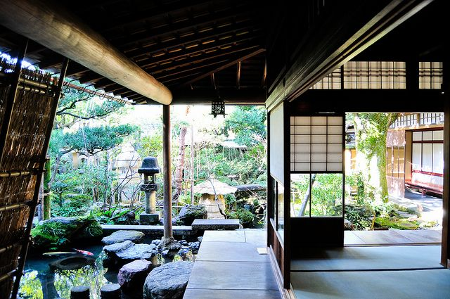 i've always loved traditional japanese homes!