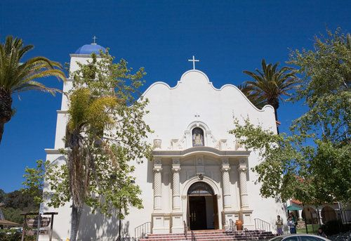 Old Town, San Diego | Picture - The Immaculate Conception Church in Old Town San Diego. This was my favorite church