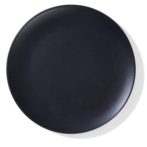 Matte Finish Dinner Plate - Black