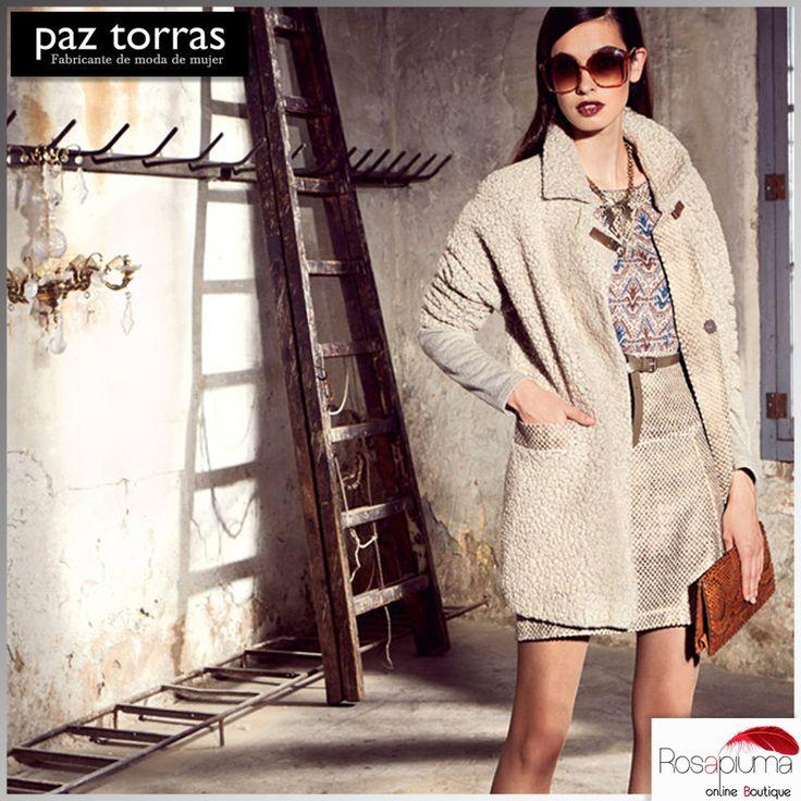 #Brand fondato nel 1969, Paz Torras veste donne contemporanee con total look sempre all' avanguardia e al passo con le tendenze.  Scegli l' #abito perfetto per uno #stile #casual da sfoggiare ogni giorno!  Su #rosapiumaboutique>> http://bit.ly/1UnXKgz   #rosapiuma #paztorras #everydaystyle
