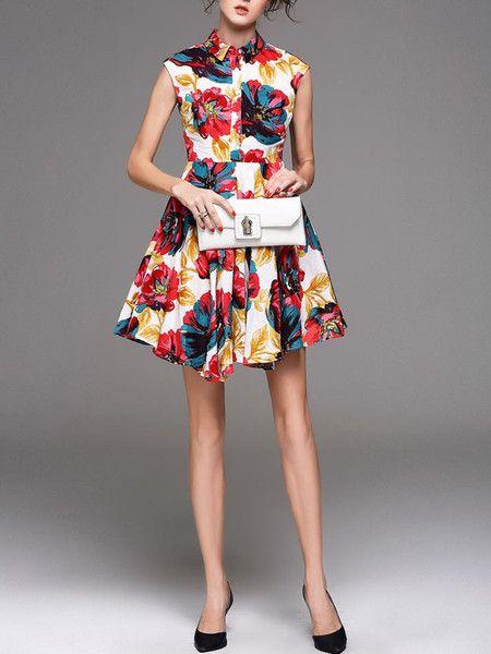 Dyed Ramie Mini Dress