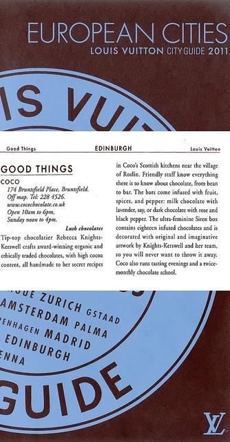 Louis Vuitton City Guide, via Flickr