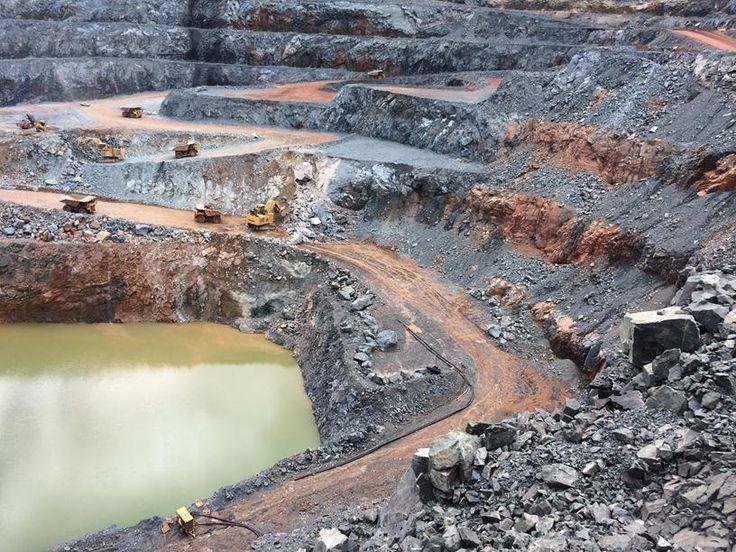 Sabodala open pit - gold mine