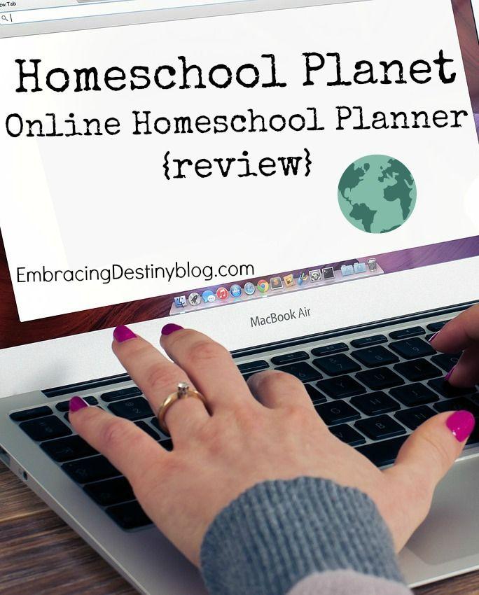 Homeschool Planet Online Homeschool Planner {review} - Embracing Destiny