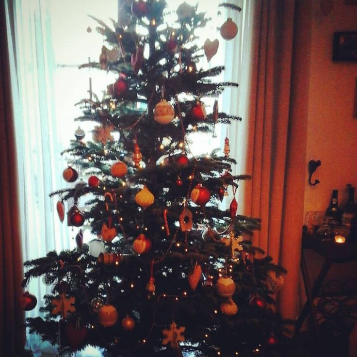Decorated the tree