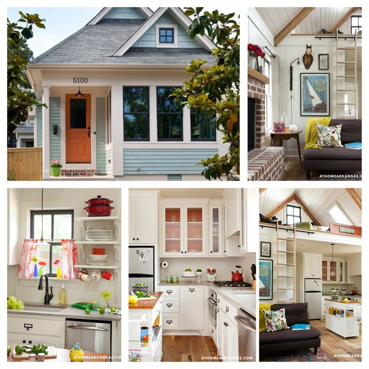 Interior Colors For Small Homes: Tumbleweed Cottage... This Is My Dream House!