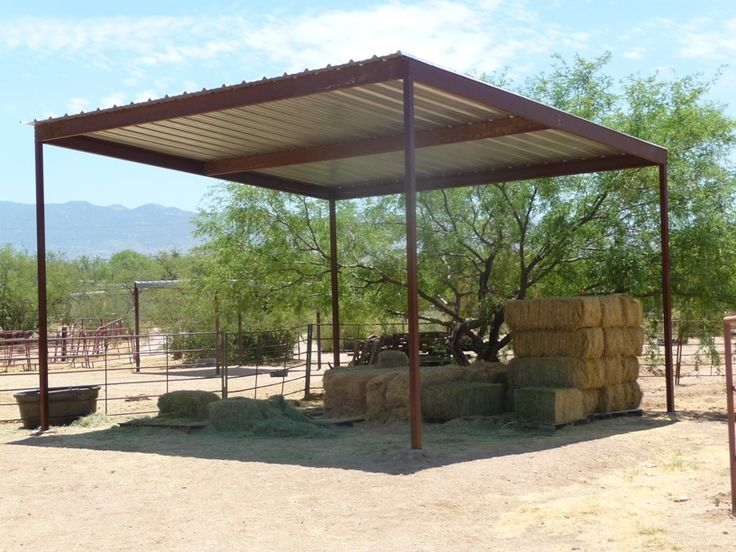 Hay Shade For Sale in Maicopa County AZ. & 37 best Building - Steel Canopy Design images on Pinterest ...