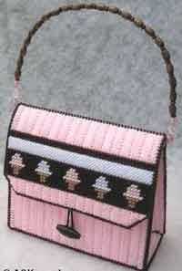 Plastic Canvas Purse For Girls free pattern