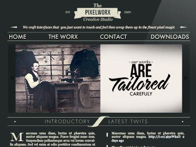 Website by pixelworxstudio