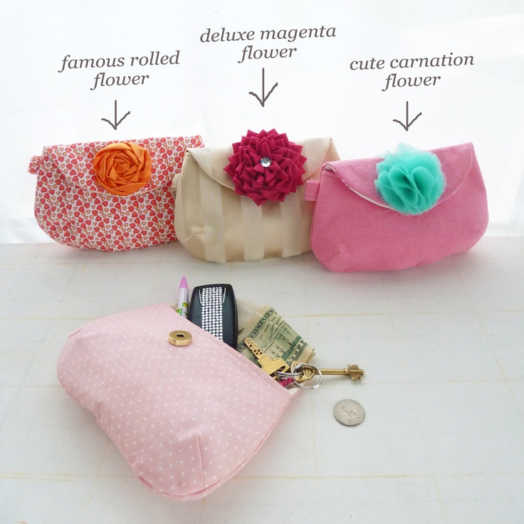 Purse Pattern sewing tutorial Louise Clutch - Easy Spring accessories Summer - DIY wedding PERFECT. $7.50, via Etsy.