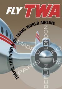 TWA Flight Poster