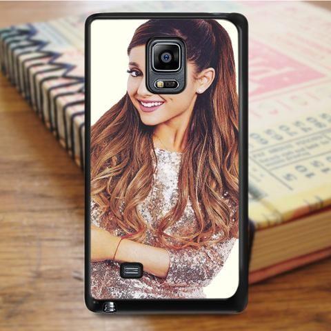 Ariana Grande Cute Smile Singer Samsung Galaxy Note 5 Case