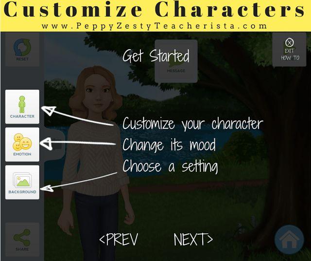 Technology in the Classroom: Tellagami App – Peppy Zesty Teacherista