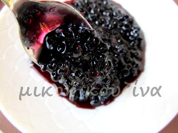 μικρή κουζίνα: Γλυκό κουταλιού σαμπούκος (ή ζαμπούκος, αφροξυλιά ...