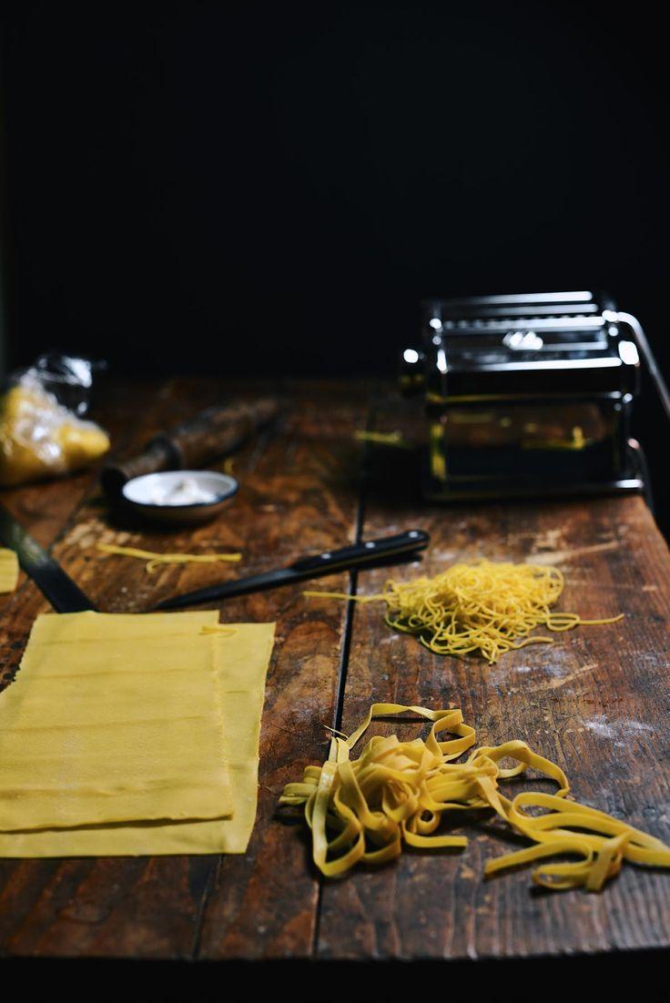 Homemade Egg Pasta | A Brown Table