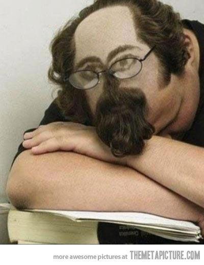 Sleeping in class: level expert