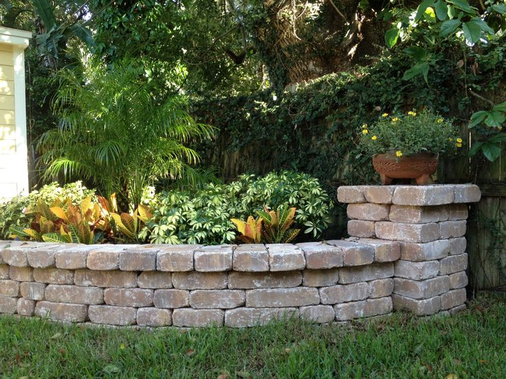 Stone Planter Bench Wall With Column By Stonecraft