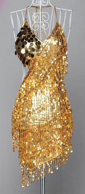 Hot Lady Cocktail Party Latin Dance Ballroom Club Sequin Halter Dress 2051   eBay