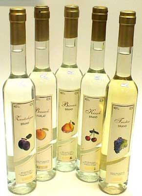 Pálinka- fruit brandy. the hungarians seem to drink alcohol for every possible occasion. Grandma Rose's favorite flavor was apricot.