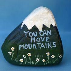 Das Phänomen der gemalten Felsen ist eine familienfreundliche Aktivität, die Spaß macht