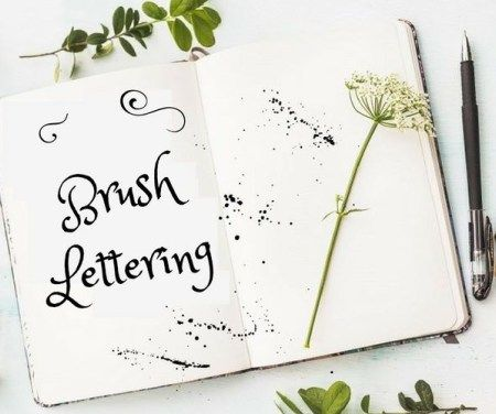 Comment débuter le brush lettering