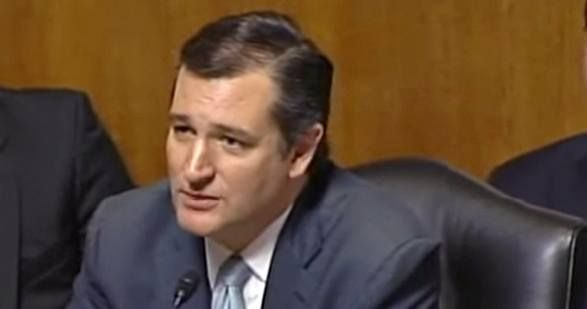 In a Senate hearing, Ted Cruz uses classic climate denier arguments to try to get Sierra Club President Aaron Mair to change his position on climate change