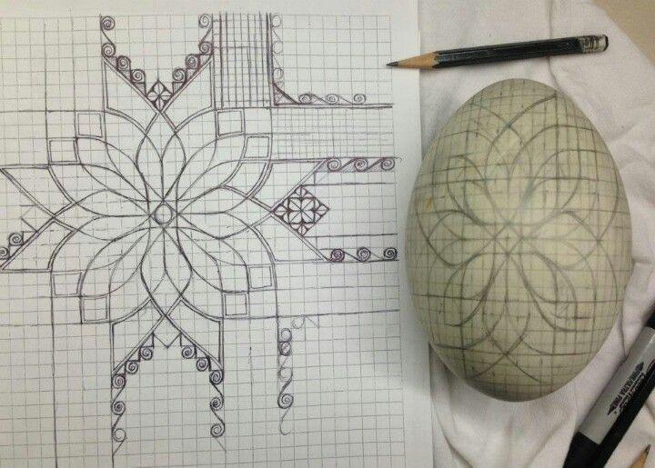 patterned egg | Easter egg . Osterei . œuf de Pâques | Mark Malachowski |