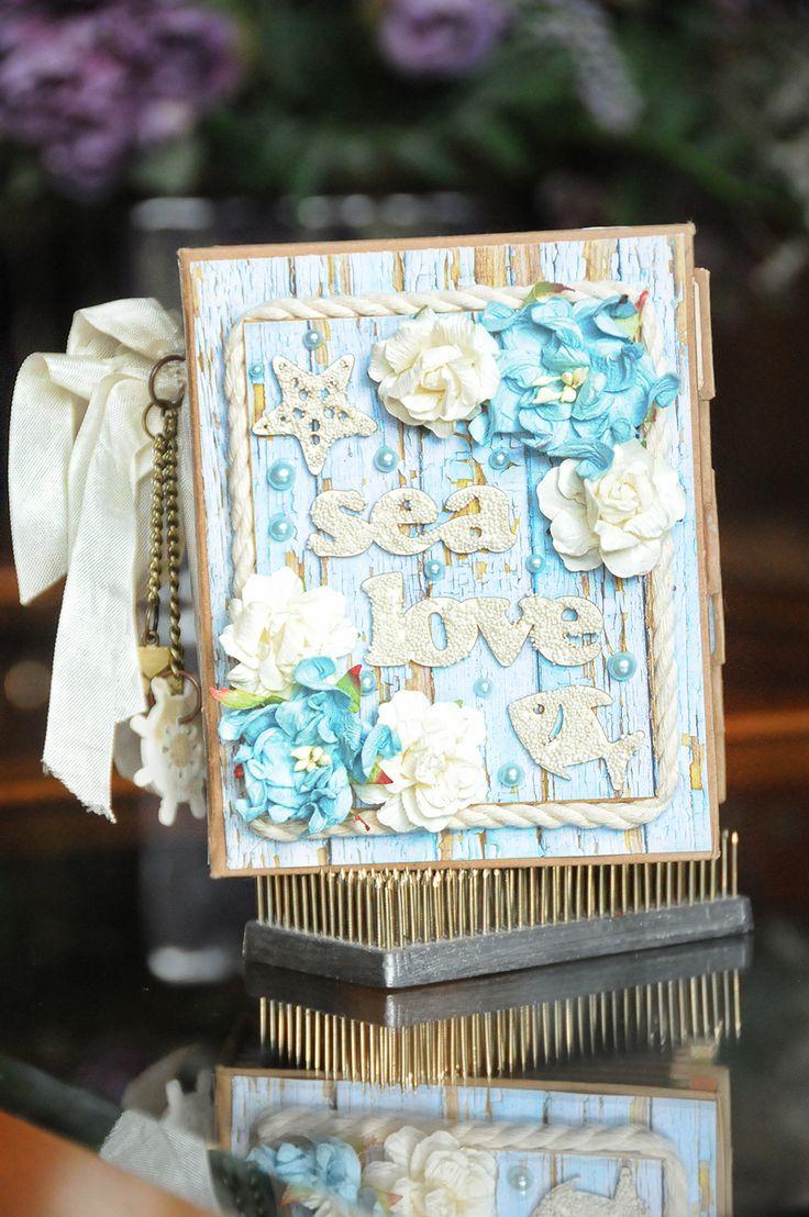ScrapBerry's: Antique Shop Mini Album by Lisa Nazario-Gregory